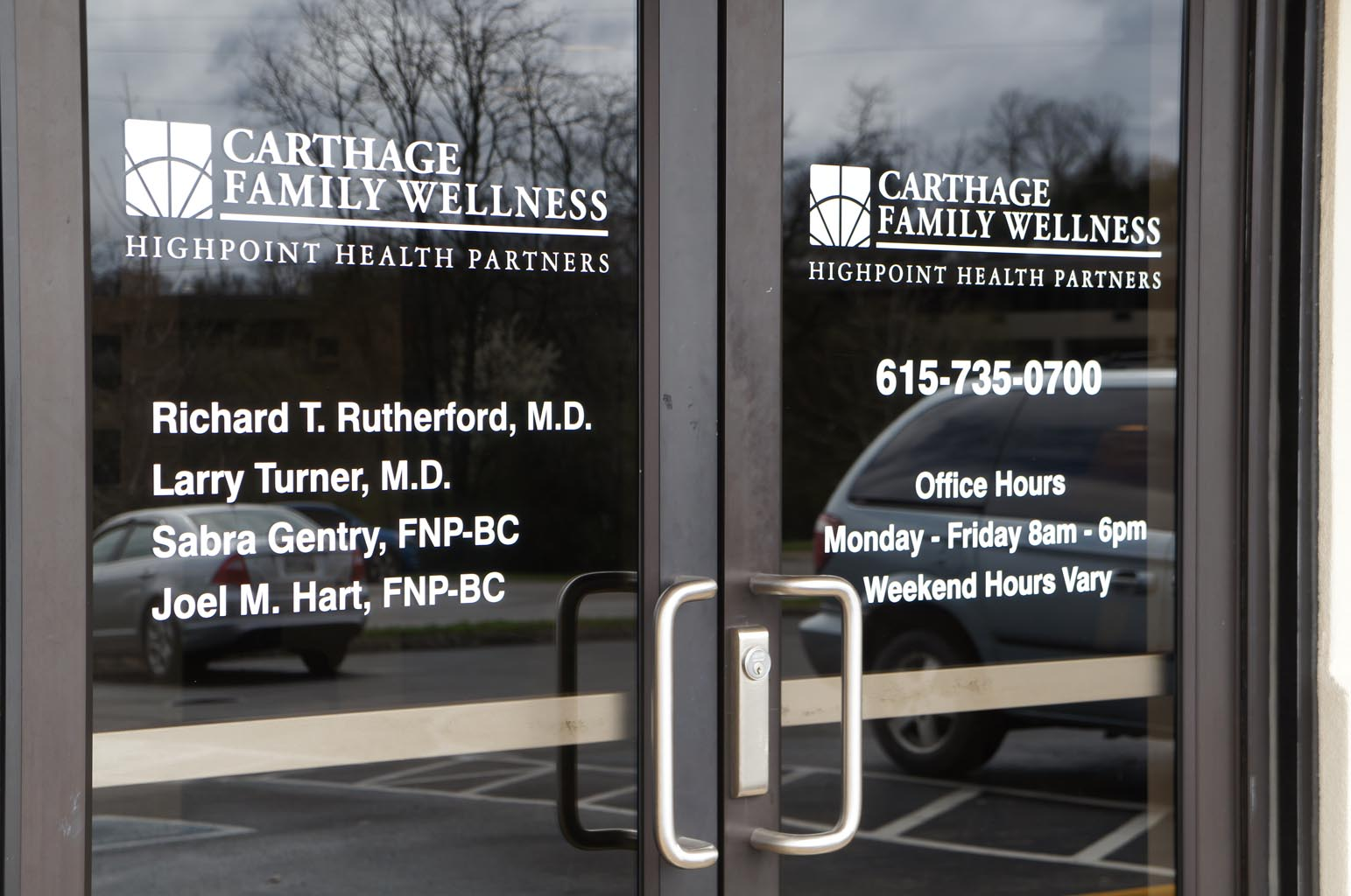 Carthage Family Wellness Front Entrance