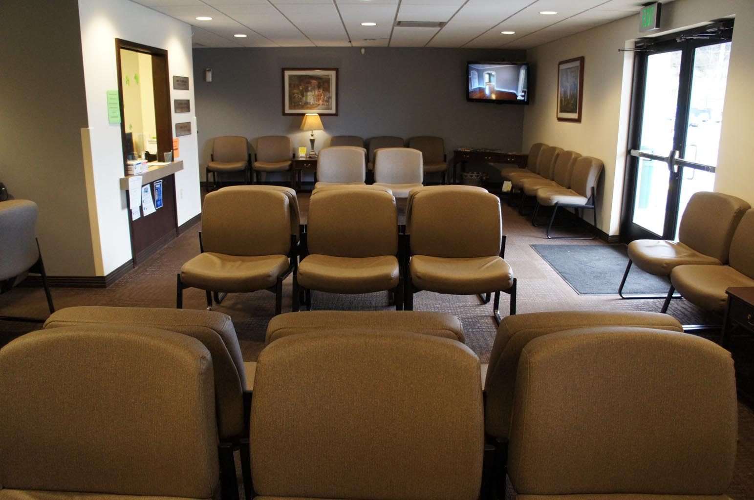 Carthage Family Wellness Patient Waiting Area