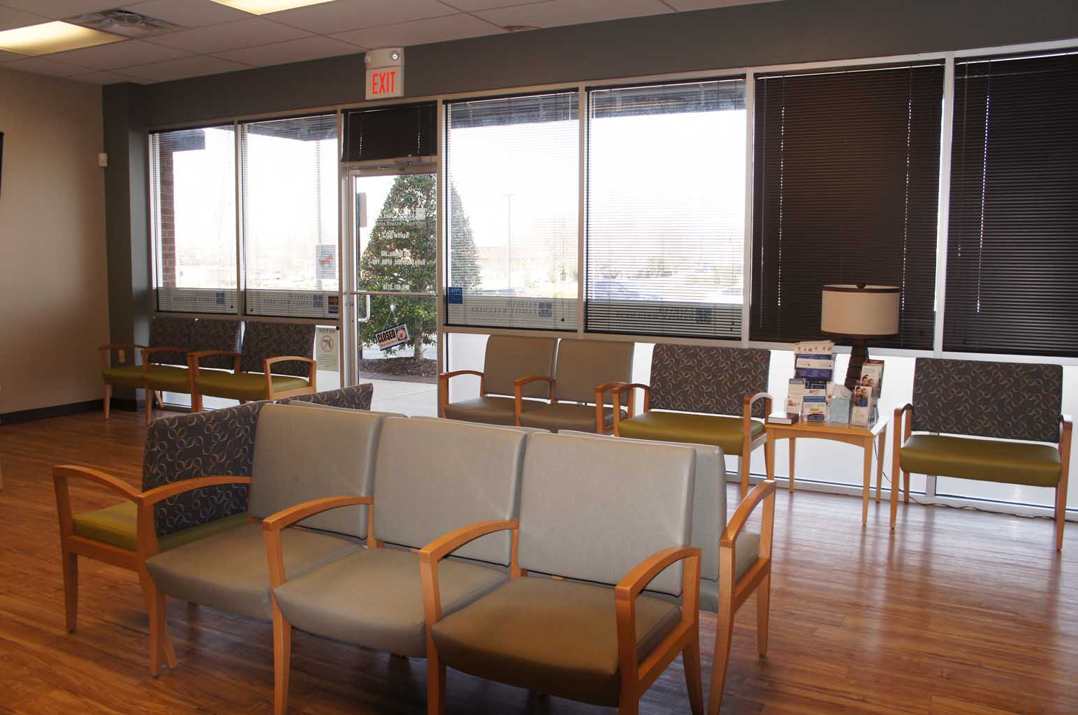 Fairvue Family Wellness, Gallatin TN - Patient Waiting Area